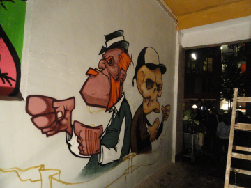 Kreativnacht Graffiti